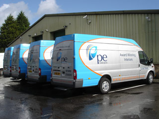 Vehicle wrap graphics, Cardiff